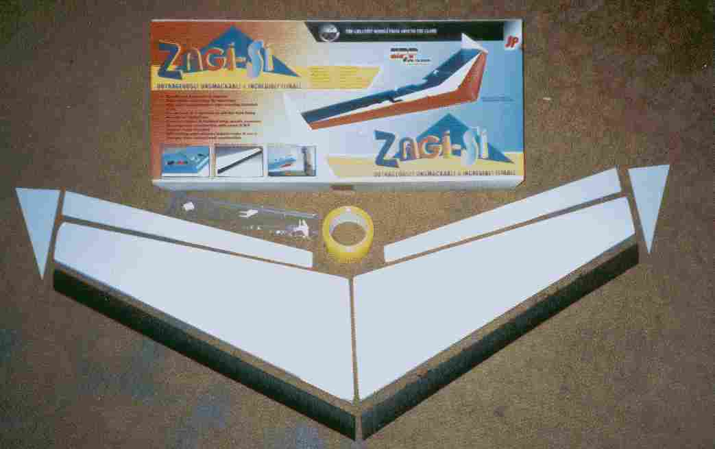 Zagi Review and Flying Wings