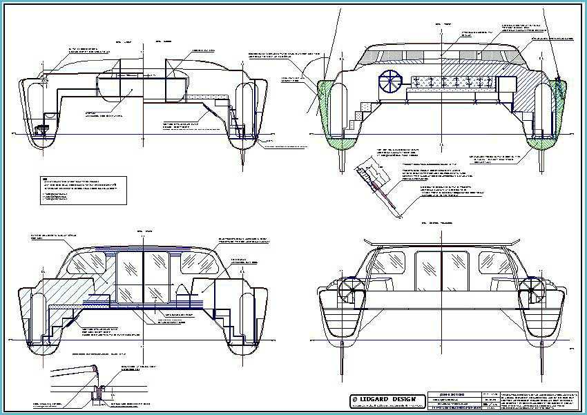 Complete Boat Plans: Multi Hull Power Boat Plans