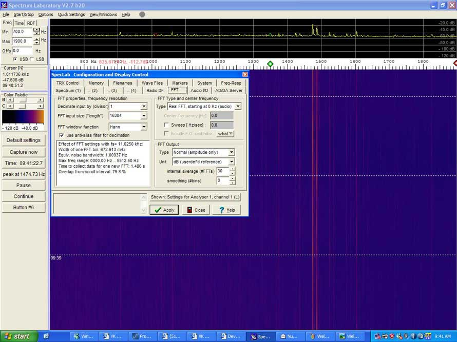 Measuring TV Video Carrier Frequencies to 1 Hz Precision - VK LOGGER